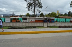 Food Stands Across from Main Drag