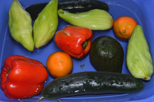 Bleaching Fruits and Veggies