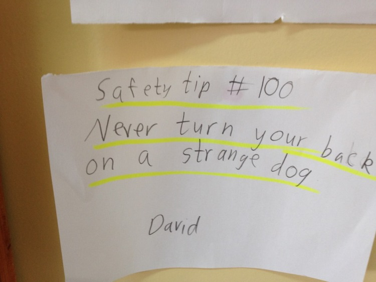 David Gets My Vote For Smartest Student!
