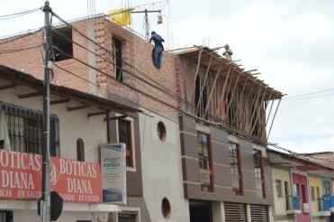 Construction in Baños