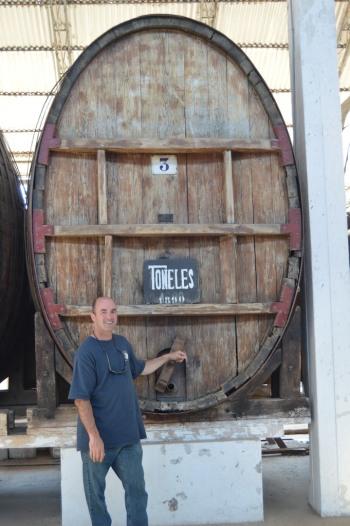 Matt Tapping the Barrel