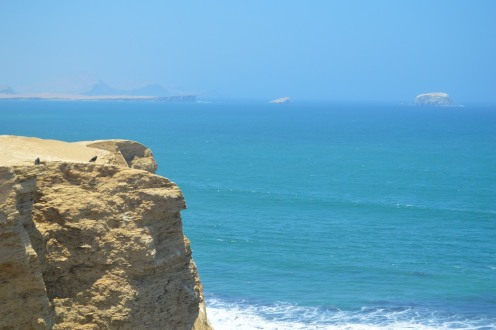Yellow Bluff and Blue Water