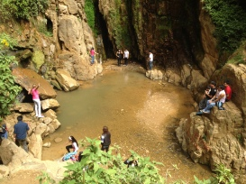Pool Beneath Macho Falls