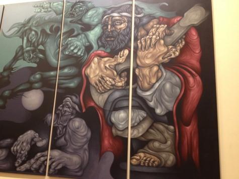 Casa Rosada Mural