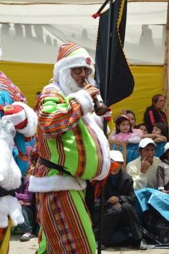 Drunk Andean Santa!