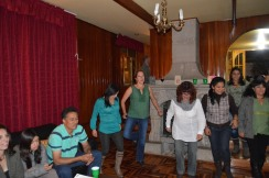 Attempting Irish Dance