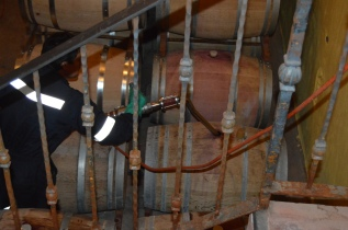 Filling the Barrels