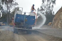 Watering the Road