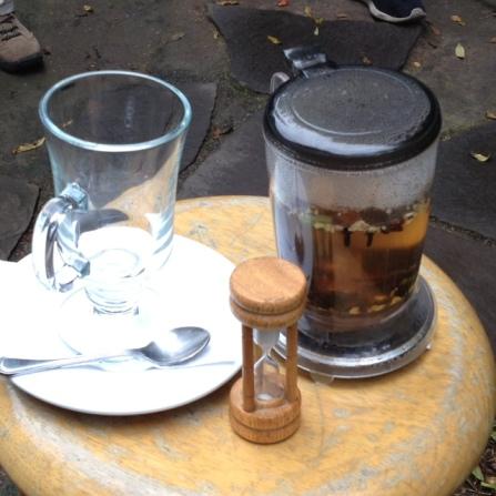 Cool tea infuser