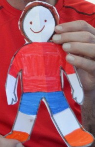 Flat Stanley Friend of Kieran Dwyer