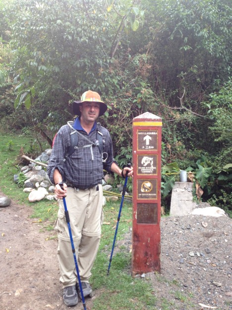 1st campsite - Wayllabamba