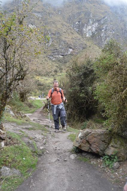 Mark Hiking