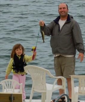 Fishing at age 3 1/2 ...
