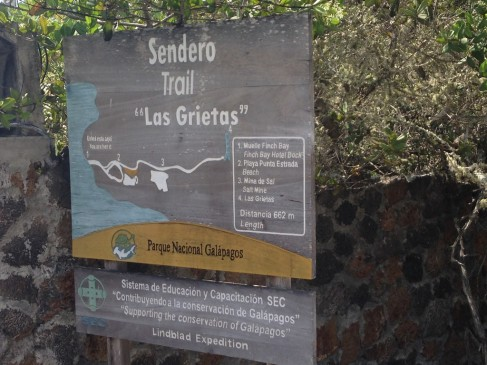 Trail to Las Grietas