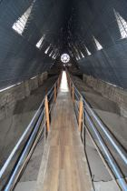 Plank walkway on top of the Basilica