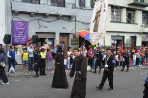 Beginning of the Procession