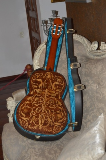 Ornate Guitar