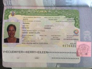 Kerry's Visa