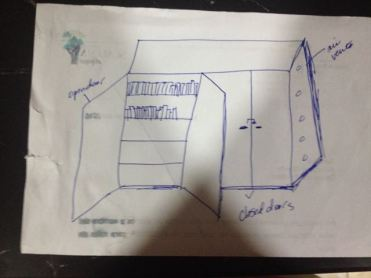 My Bad Drawing of the Library Box