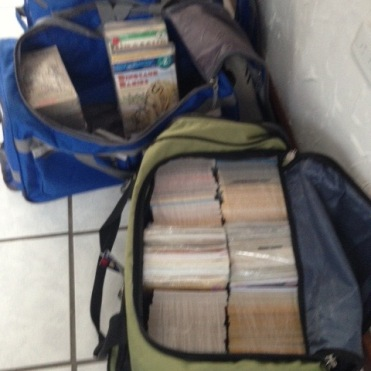 3 Duffels of Books
