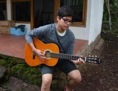 Manuel Provides an Impromptu Concert