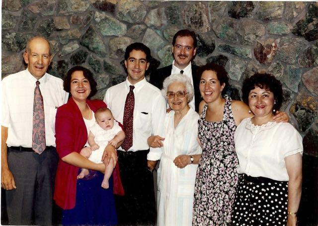 Andy's Baptism, Last Family Photo