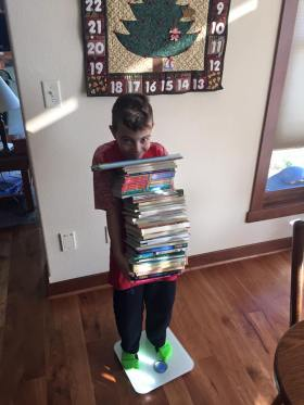 Does Kieran Weigh More than the Books?