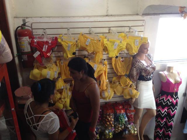 Yellow Underwear