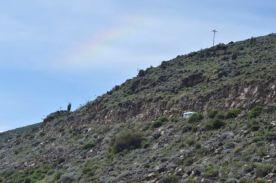Our Trusty Van Under the Rainbow