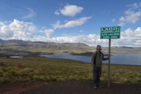 Pretty Lake in the Puno Region