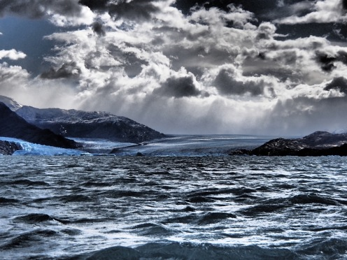 Clouds Over the Upsala Glacier