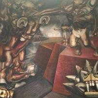 Part of a Siqueiros Mural