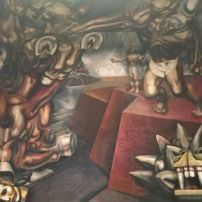 Part of a Siqueiros Mural