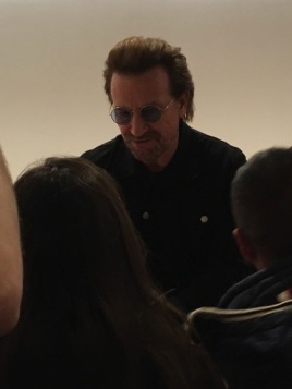 The man, the legend, Bono!