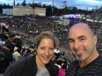 Before the U2 Show