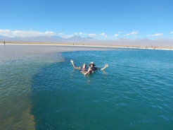 Floating in the Salt Lake - More Saline Content than the Dead Sea
