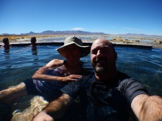 Enjoying the Hot Springs