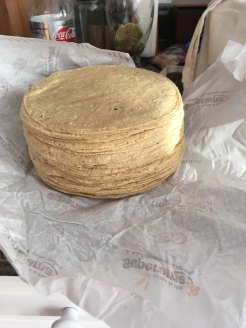 A Mountain of Tortillas