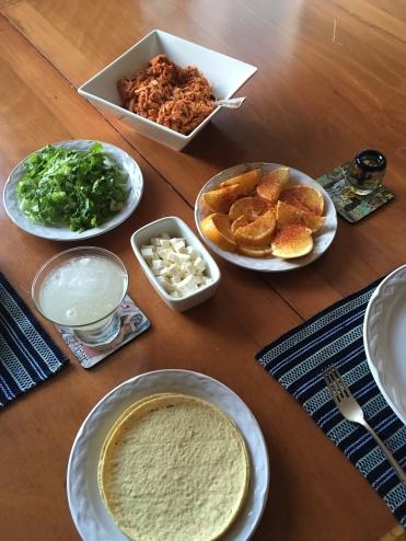 Tinga Feast, American Style