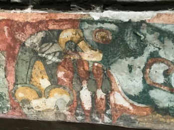 Bird fresco