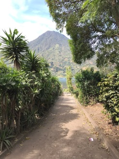 Path and San Pedro Volcano